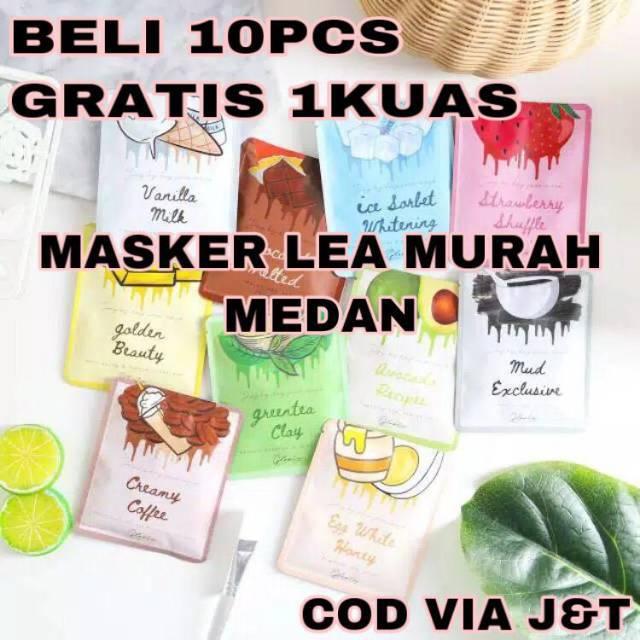 Нð'𝐎𝐌𝐎 Facemask Masker Organik By Lea Gloria Pemutih Wajah Wanita Dan Pria Shopee Indonesia