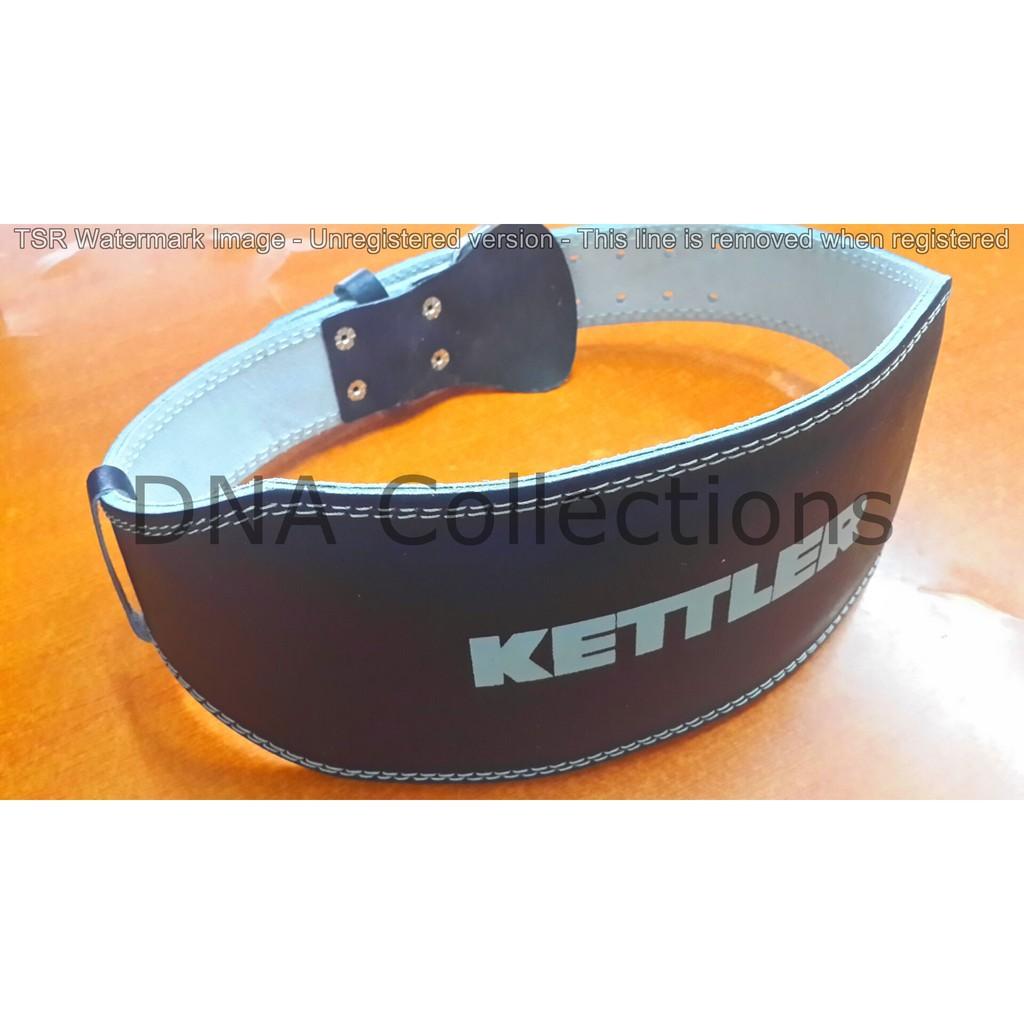 Fitness Leather Lifting Belt Sabuk Gym Under Armour Semi Kulit Belts Nylon Shopee Indonesia