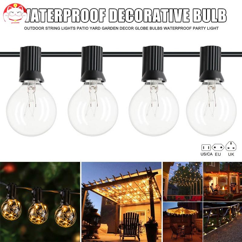Lampu Bohlam Led Gantung Untuk Dekorasi Rumah Pesta Taman Outdoor Shopee Indonesia