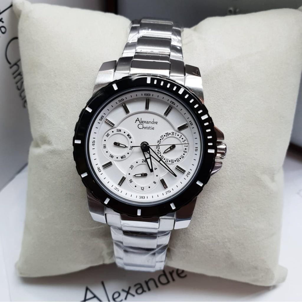 Jam Alexandre Christie AC6141 Wanita Original Stainless Silver | Shopee Indonesia