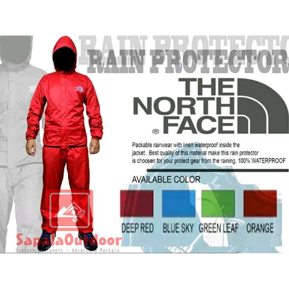 Setelan Jas Hujan Gore-Tex Pro-Camp Raincoat for Outdoor 08f6b17147