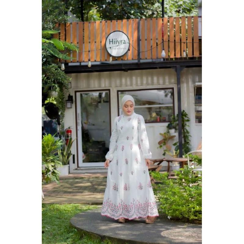 Dress import by LFY Bordir Lux Dress