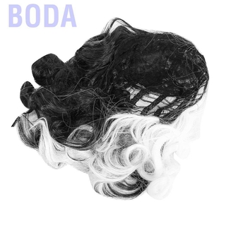 Wig Rambut Pendek Keriting Natural Bahan Sintetis thumbnail
