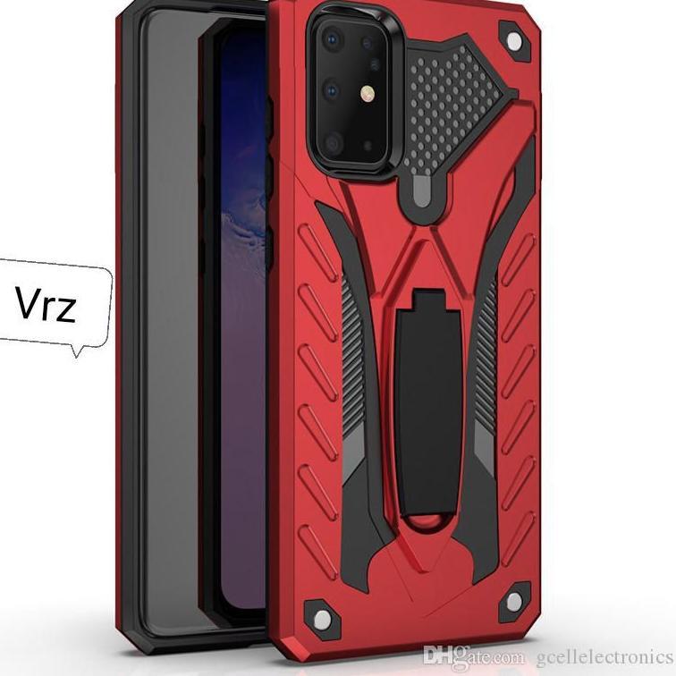 Terbaru Vivo Y12S Y12 S 2020 Hard Case Phantom Robot Transformer Casing Soft Cover Leather Standing