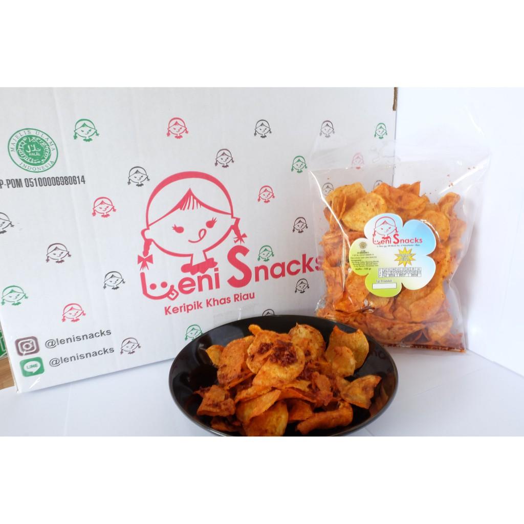 Keripik Singkong Opak Pedas Shopee Indonesia Odut Snack Sanjay Balado Asli Padang