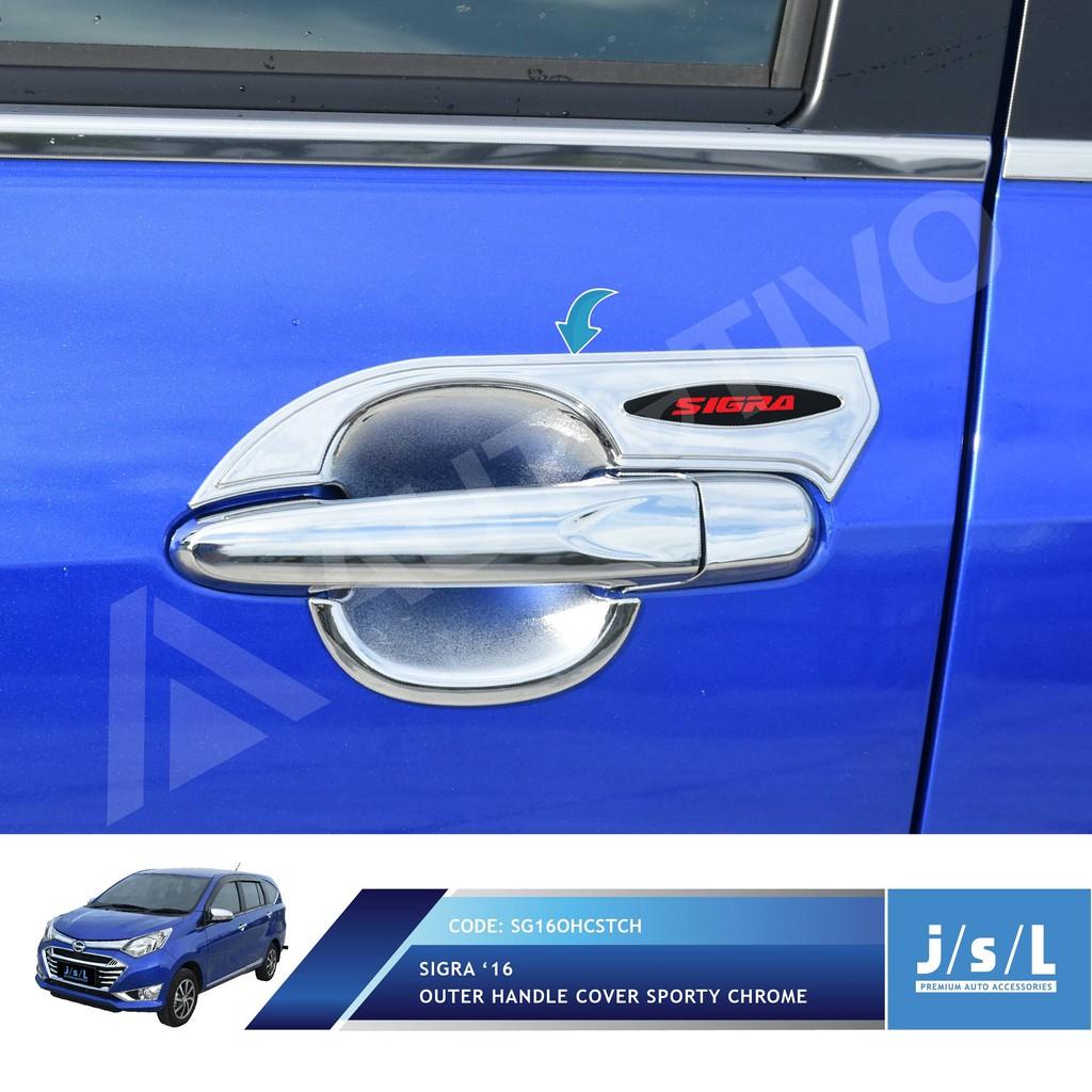 Daihatsu Sigra Outer Handle Cover Sporty Chrome Jsl Croom All New Avanza Xenia