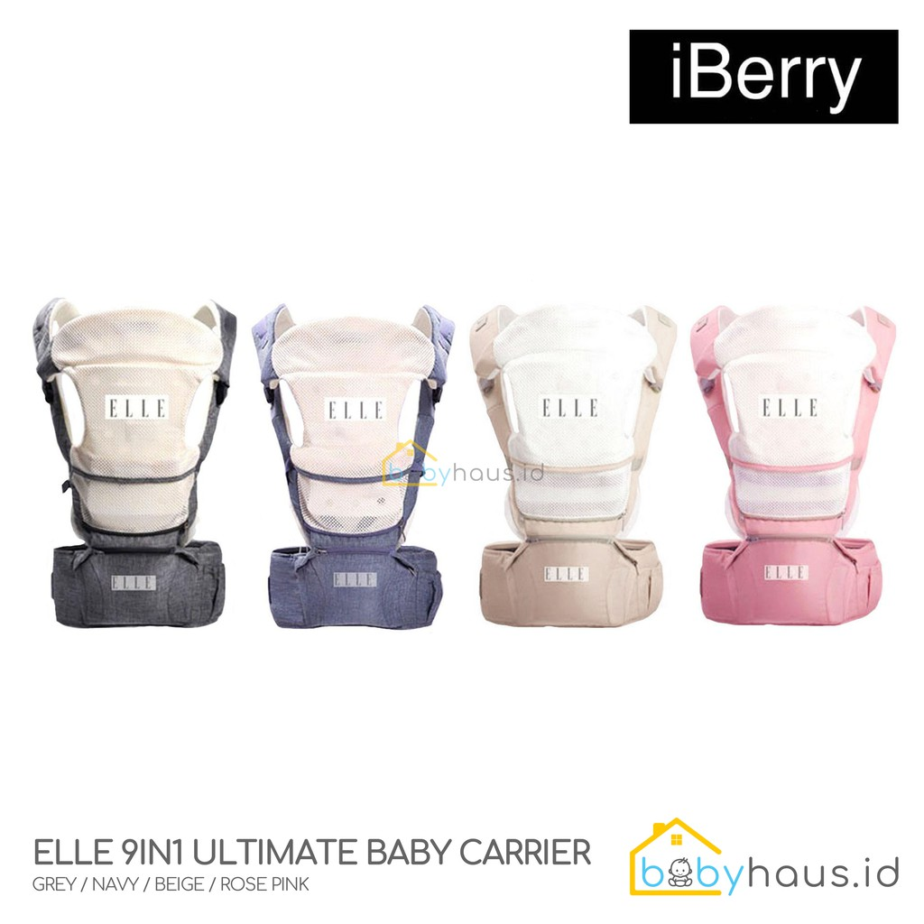 0fb390169af iBERRY 9in1 ULTIMATE BABY CARRIER