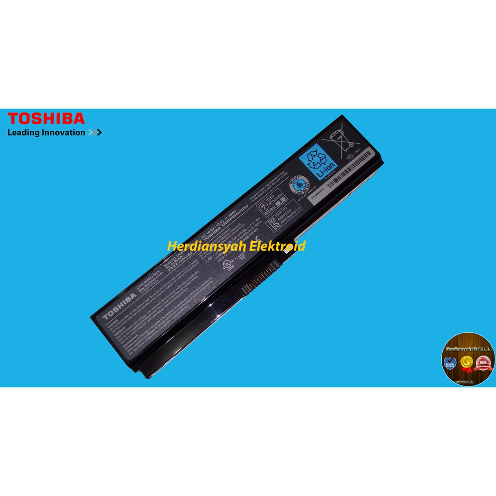 Original Baterai Toshiba A600 L600 C600 C640 L635 L640 L645 Keyboard L735 L745 Series L650 Source Batre Laptop Satellite L745l630l510c600 Shopee Indonesia