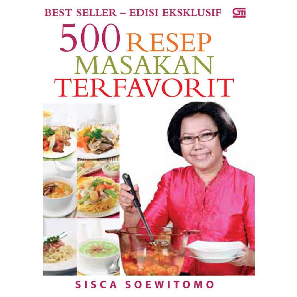 Buku 500 Resep Masakan Terfavorit Hc By Sisca Soewitomo Shopee Indonesia