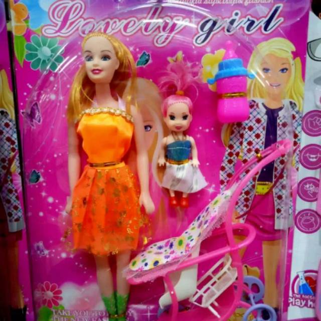 Mainan Anak Perempuan Boneka Barbie Bayi Shopee Indonesia