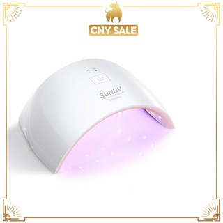 SUNUV Lampu kuku SUN9C 9CPLUS Nail Lamp with Motion Activated for Gel Based Polish thumbnail