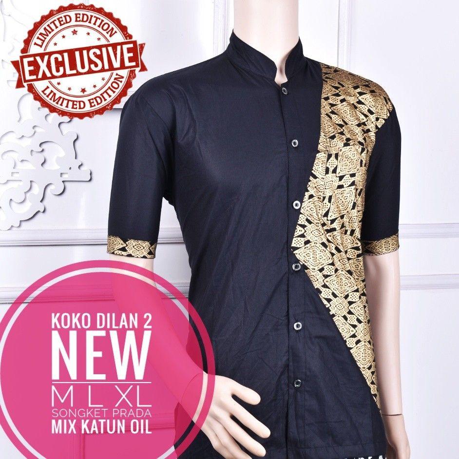 Batik Slimfit LS1102 Green Kombinasi Muslim Koko Jeans Pria . Source · Dapatkan .