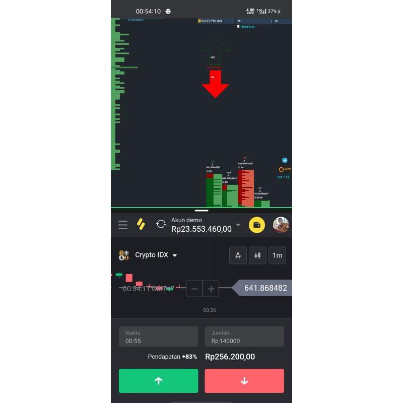 robot trading via android .signal trading (binomo.binary dll)