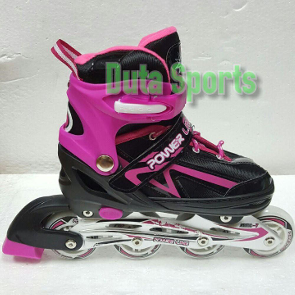 Sepatu Roda Anak Roda Karet Murah Powerline 5800 PU ( Biru ... 0c177378b9