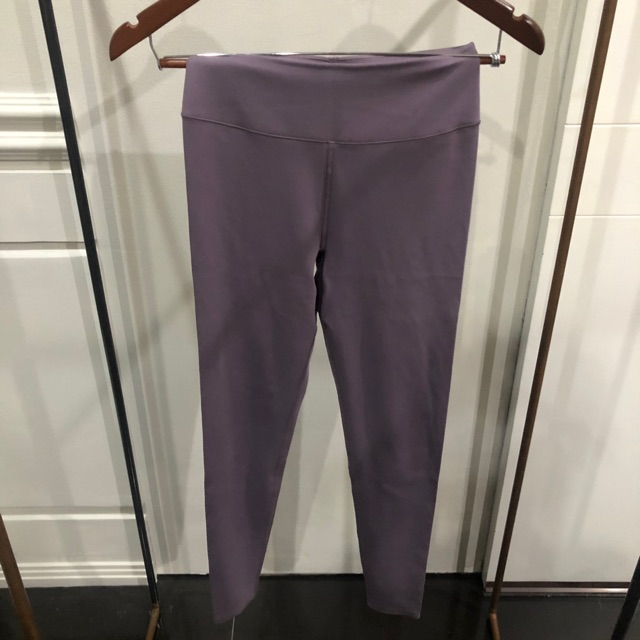 Uniqlo Airism Sports Legging Purple Shopee Indonesia