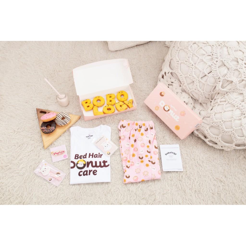 Pyjamas Donut (package) – BOBOLOGY (Piyama PJ Baju Tidur Baju Rumah Kaos Anak)