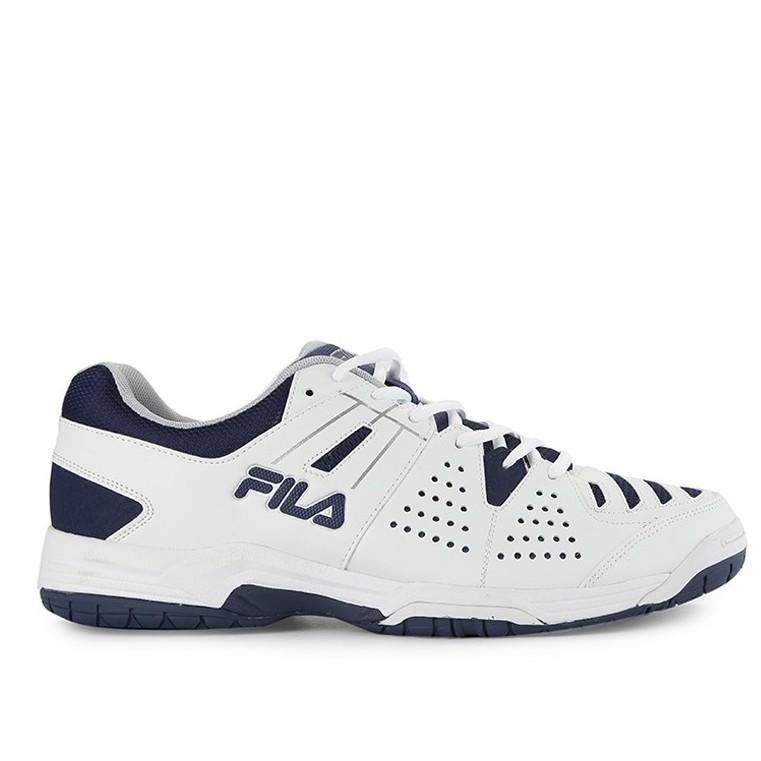 Fila Sepatu Tenis Olahraga Instrax - White White Navy  410912584c