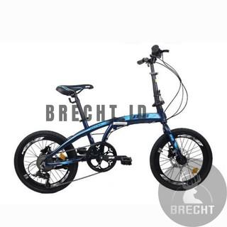 Sepeda Lipat 20inch Pasific Noris 2.8 Alloy 8 Speed