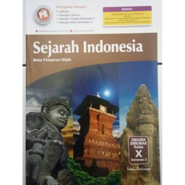Lks Pr Sejarah Wajib Sma Kelas X Semester 2 K13n Shopee Indonesia