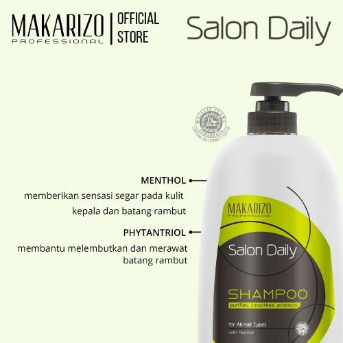 Makarizo Professional Salon Daily Professional Shampoo Pump Bottle 950 mL-2