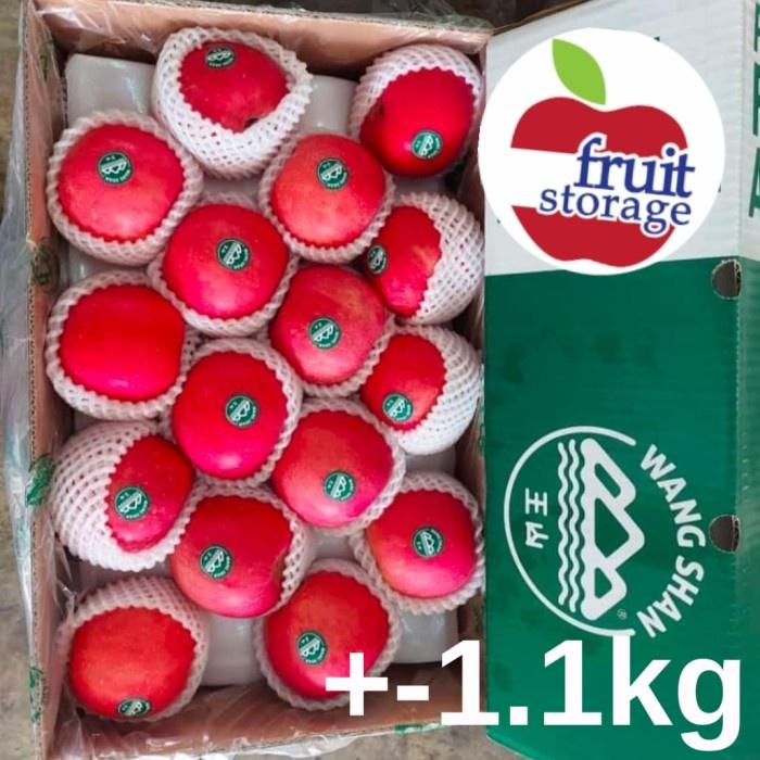 COD Apel Fuji Wangshan Wang shan Wang San Premium 1 kg kilogram / 1 dus - 1.1kg