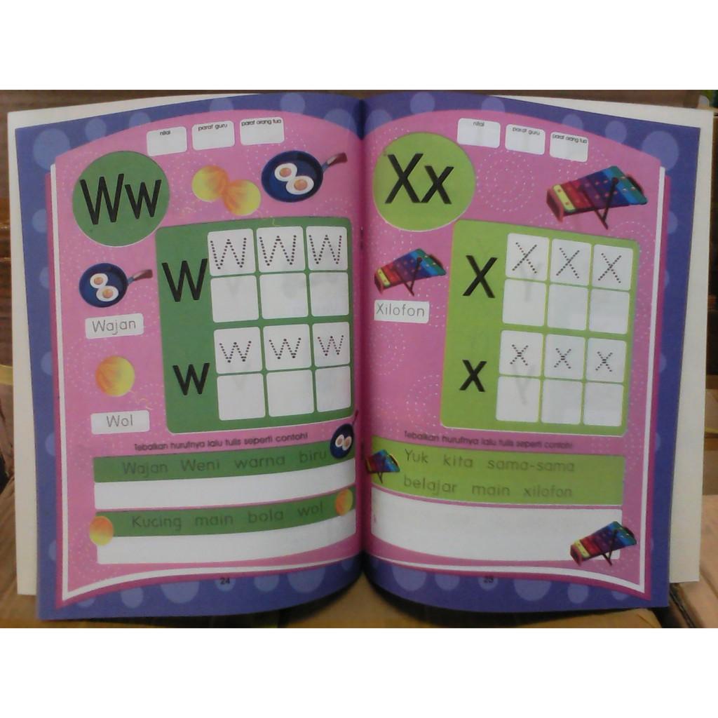 Buku PAUD Dan TK CALISTUNG Belajar Membaca Menulis Menghitung Limited