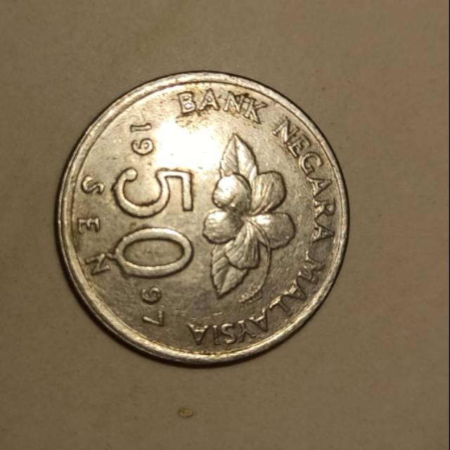 Uang Malaysia 50 Sen 1997