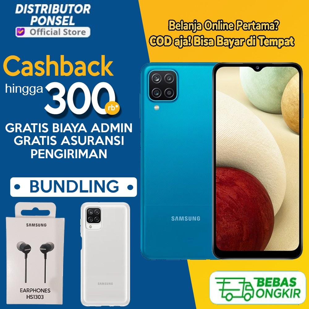 Samsung A12 Ram 4 128gb 6 128gb Garansi Sein Shopee Indonesia