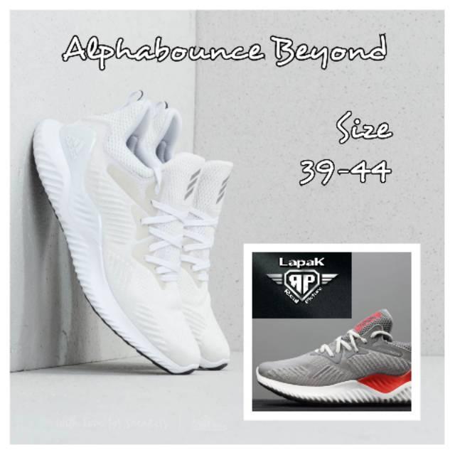65b7cff6ec63b Sepatu Adidas Alphabounce 2018 New
