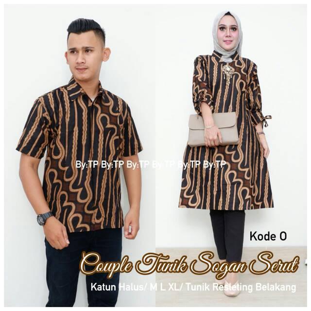 Batik Couple Outer Pendek Batik Sarimbit Batik Kondangan Baju Kondangan  Kemeja Kondangan  5ad805f406