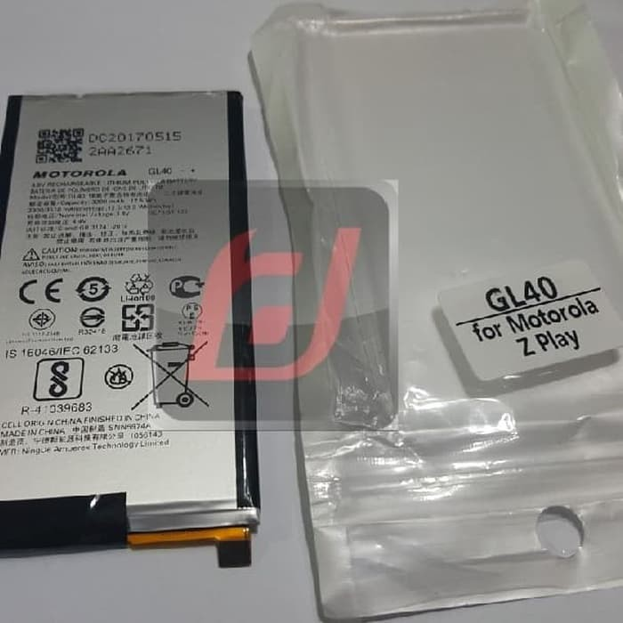 Baterai batere battery original Motorola Moto Z Play