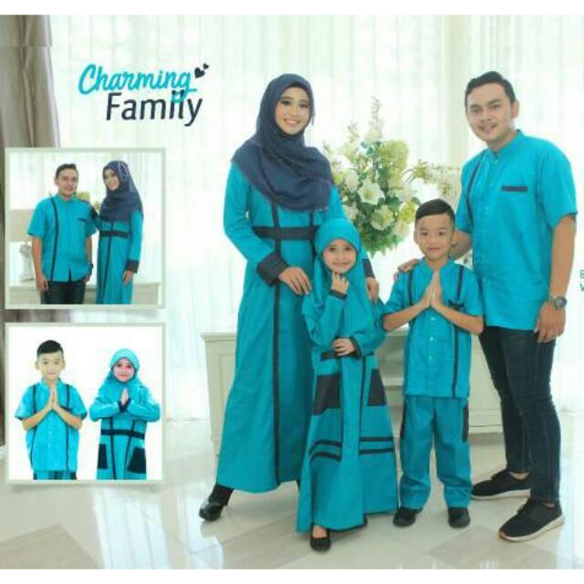 SRE01 | Seragam branded Couple muslim baju sarimbit keluarga koko gamis ayah ibu anak terbaru murah | Shopee Indonesia