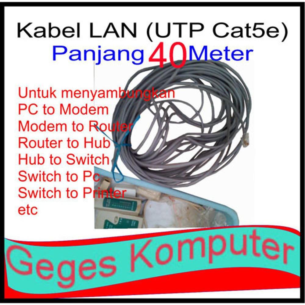 Kabel Lan Utp Cat 5e Spc Shopee Indonesia Belden 25 M Rj45 Cat5e Original Usa Meter