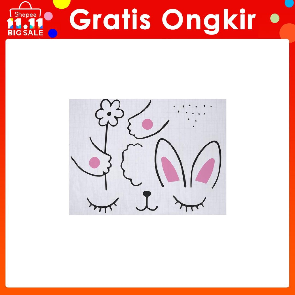 10pcs Combination Wall Paper Photo Frame Diy Hanging Picture Album Gantung Animals Lucu 3 Inch Shopee Indonesia