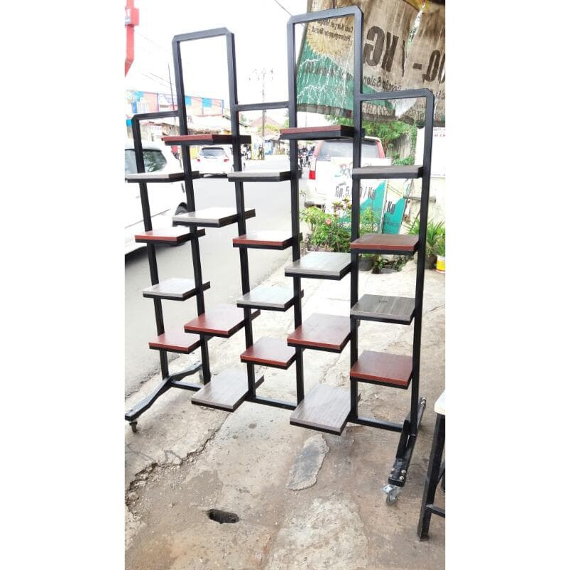 Rak Besi Pot Bunga Shopee Indonesia