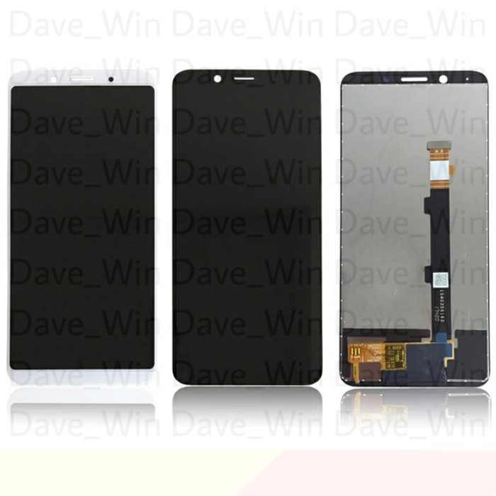 LCD TOUCHSCREEN OPPO F5 F5 YOUTH ORIGINAL BLACK KONTRAS - CC