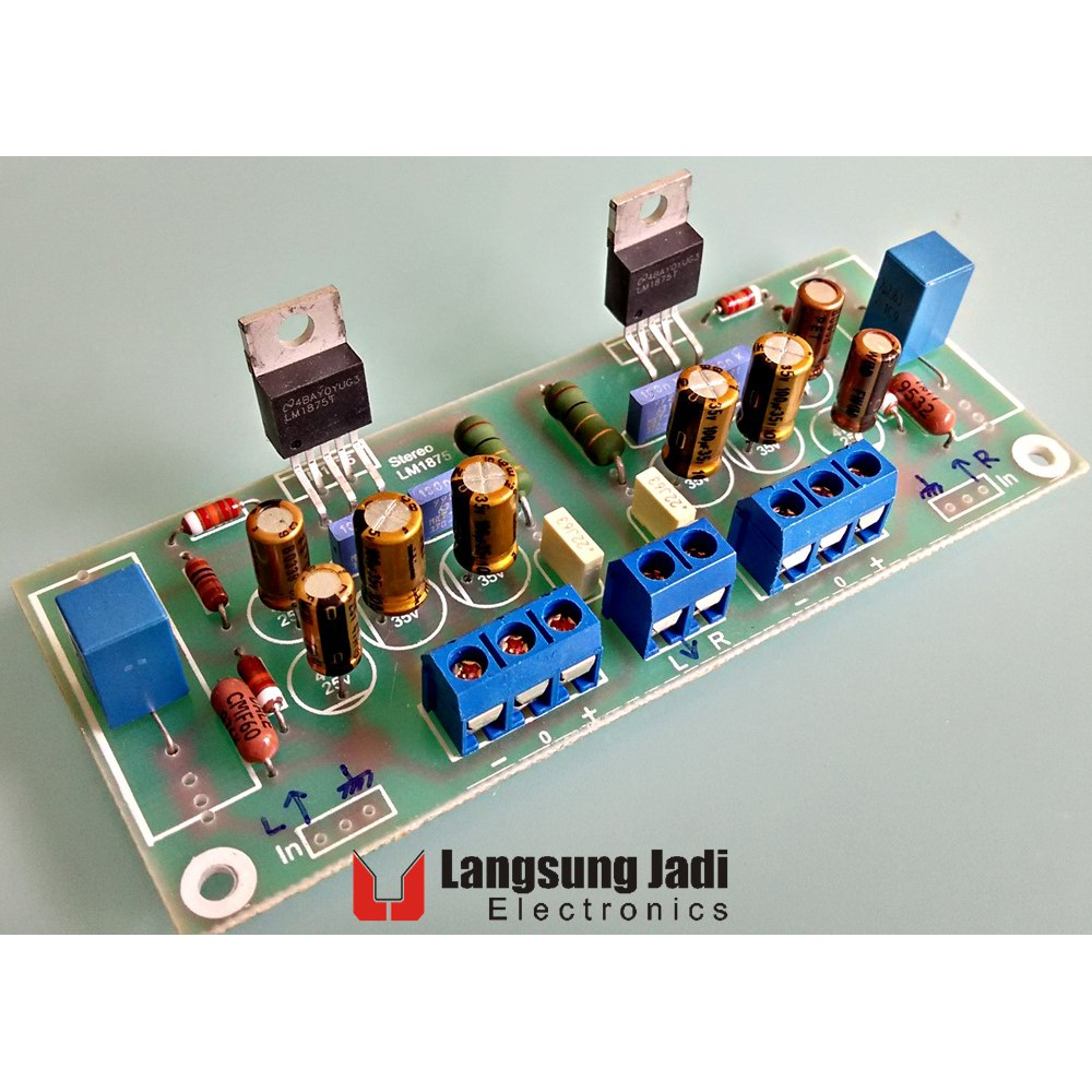 Uns 02 Kit 2x 10 Watt Stereo Amplifier La 4440 Shopee La4440 D Mohankumar Audio Indonesia
