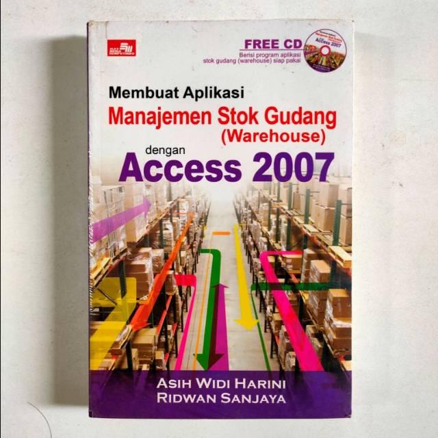 Aplikasi Manajemen Stok Gudang Dengan Access Shopee Indonesia