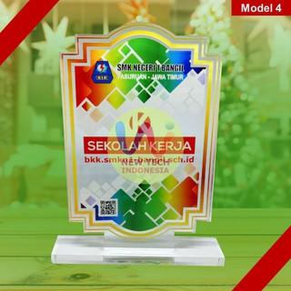 Plakat Akrilik Keren Ukuran 15cm x 10cm Desain Suka Suka ...