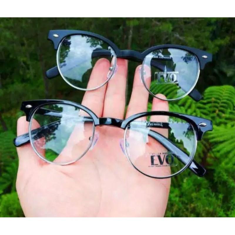 frame kacamata bulat korea/ frame kacamata fashion pria & wanita