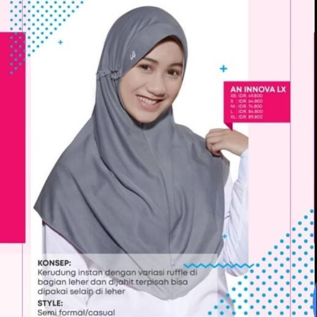 Jilbab Rabbani Innova Lx Rabbani Murah Rabbani Diskon Shopee Indonesia
