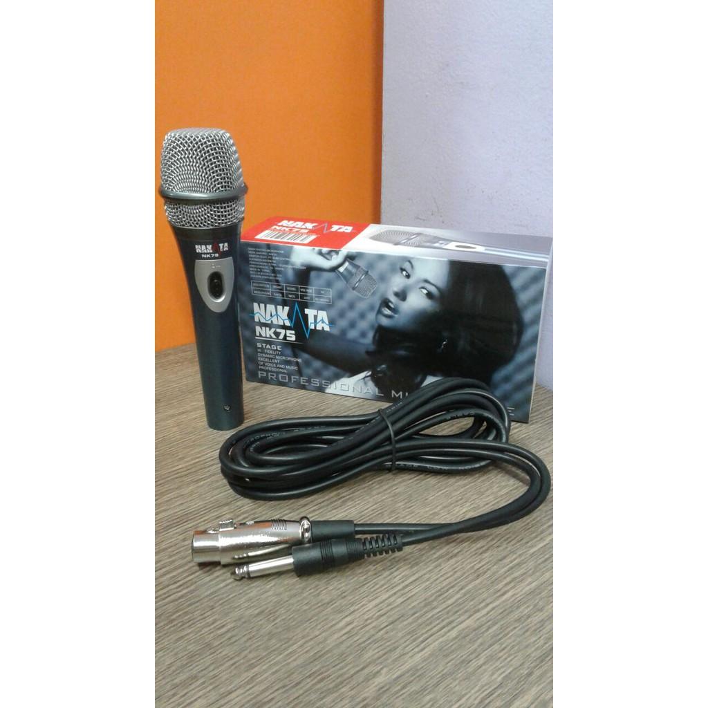 TOA ZM 320 ORIGINAL mic mik microphone mikrofon kabel cable karaoke vokal vocal PROFESIONAL | Shopee Indonesia