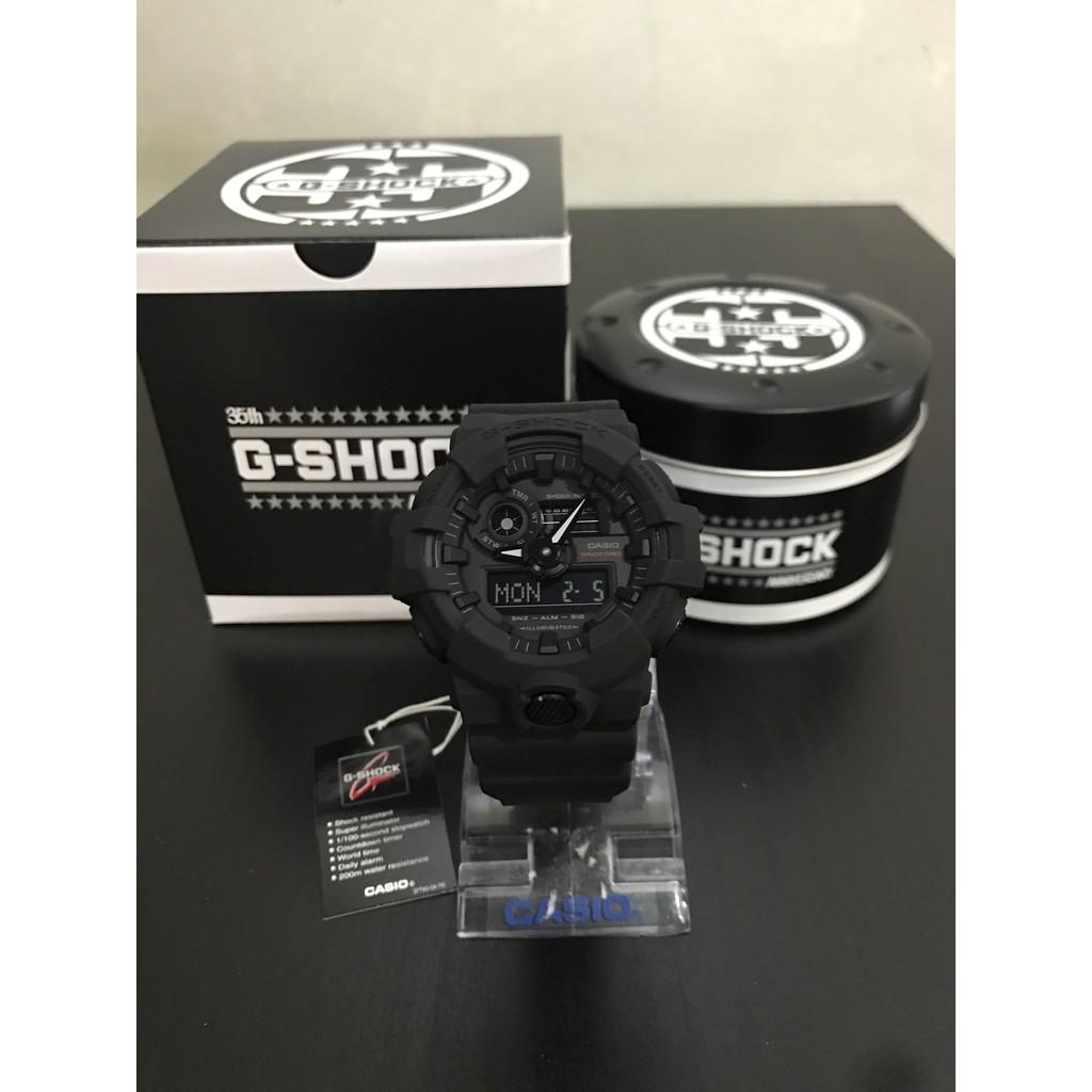 Promo Casio Gshock 35th Anniversary Ga 735a 1 Big Bang Black Jam Tangan Pria Sporty G Shock 1100 1a3 Original Shopee Indonesia