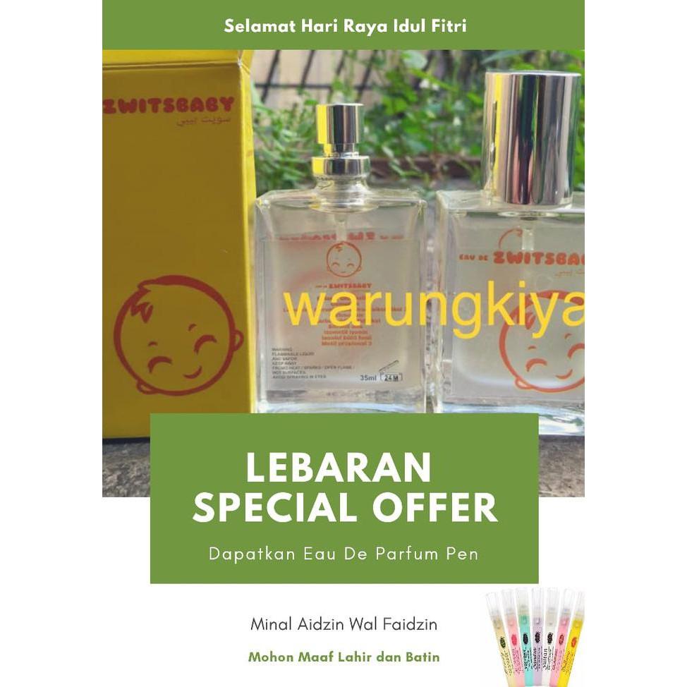 Produk Kecantikan Halal Cus Parfum Zwitsbaby Wangi Bayi Awet Bau Original Mirip Zwitsal Ori Saudi Shopee Indonesia