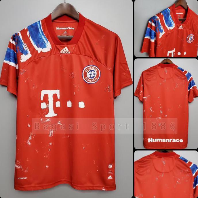 Jersey Bayern Munchen Home 1991 1992 1993 Humanrace Human Race Munich Merah S Shopee Indonesia