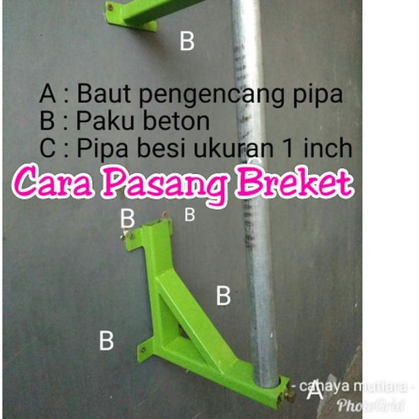 ▲ Breket Tiang Antena ❉