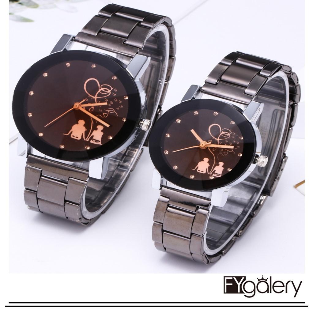 Belanja Online Jam Tangan Couple - Jam Tangan  37a3a95b01