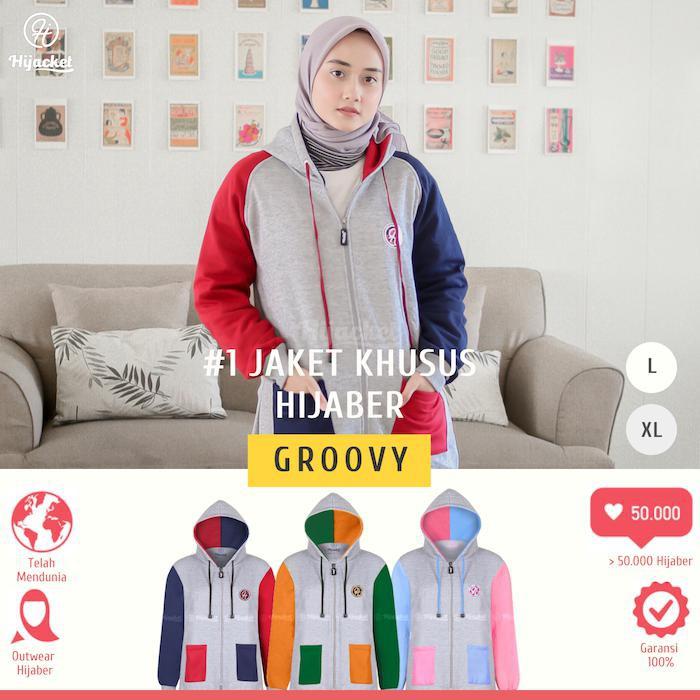 jaket muslim cewek - Temukan Harga dan Penawaran Outerwear Online Terbaik -  Fashion Muslim Januari 2019  8bd6b2e702
