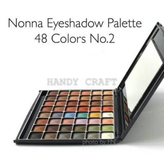 Eyeshadow Pemulas Mata 48 warna NONNA Taiwan ORIGINAL thumbnail