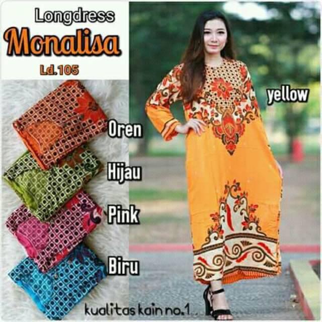 ( Murah 3 pcs 100 rb ) Daster panjang batik | Shopee Indonesia